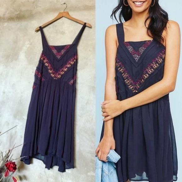 Anthropologie Dresses & Skirts - Anthropologie Haifa Maeve black embroidered